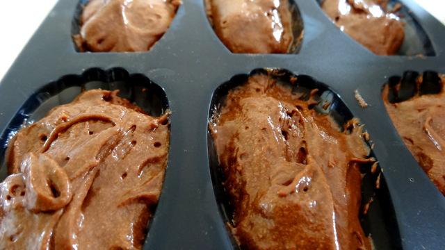 1-Madeleines de chocolat et miel 006