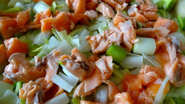 1-Quiche au saumon et au poireaux 012