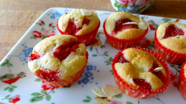 1-Muffins fraise & pomme 102