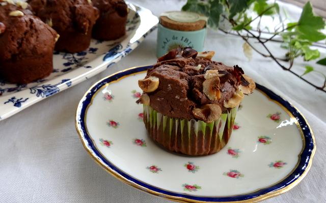 1-Muffins chocolat-noisette 050