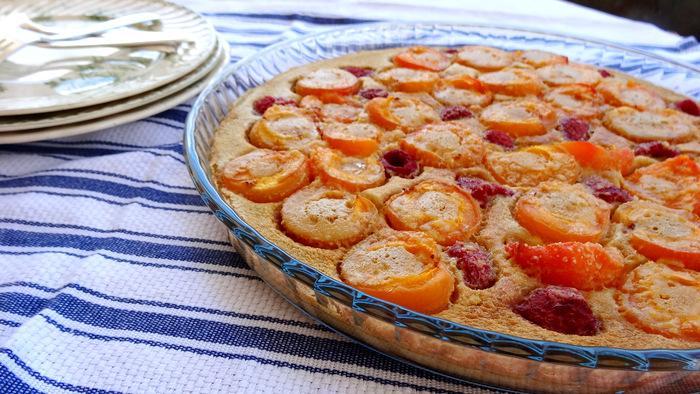 1-Gratin d'abricots et framboises 041