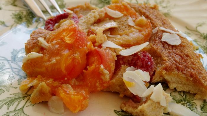 1-Gratin d'abricots et framboises 057