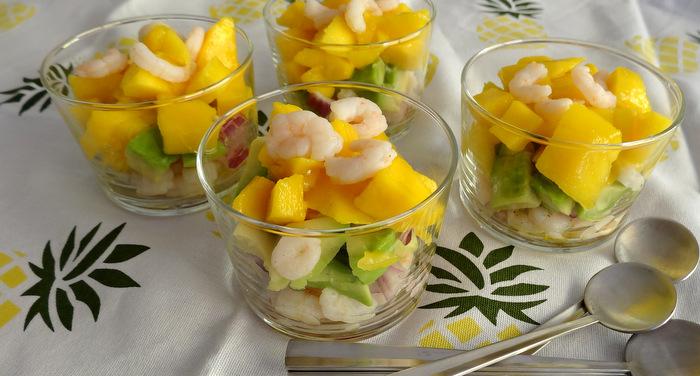1-Verrines de crevettes & mangue 012