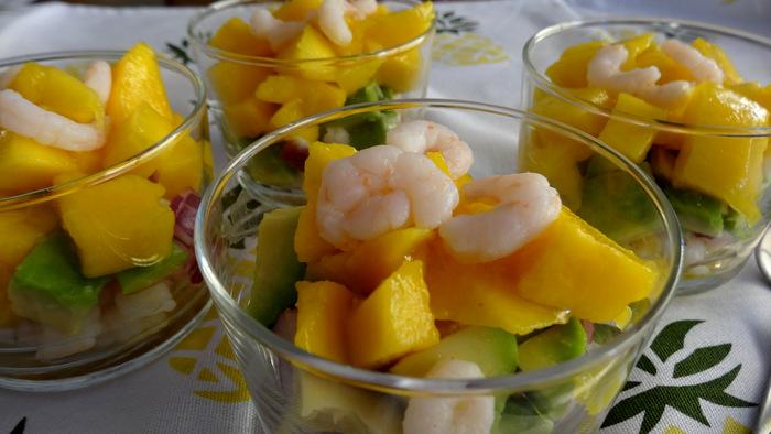 1-Verrines de crevettes & mangue 018